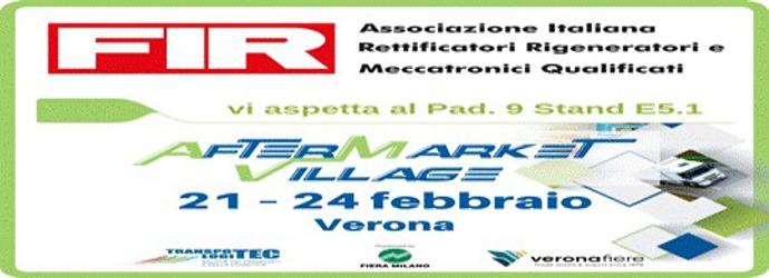 FIR all'Aftermarket Villagge 2019  Transpotec Logitec Veronafiera